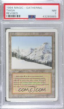 1994 Magic: The Gathering - Core Set: Revised - Booster Pack [Base] #TAIG - Taiga R :L: [PSA7NM]
