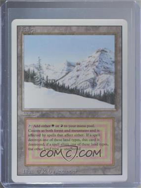 1994 Magic: The Gathering - Core Set: Revised - Booster Pack [Base] #TAIG - Taiga R :L: