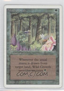 1994 Magic: The Gathering - Core Set: Revised - Booster Pack [Base] #WIGR - Wild Growth [Noted]
