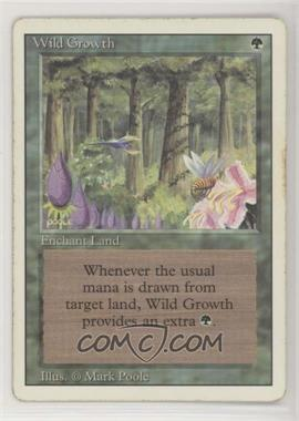 1994 Magic: The Gathering - Core Set: Revised - Booster Pack [Base] #WIGR - Wild Growth