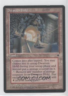 1994 Magic: The Gathering - Fallen Empires - Booster Pack [Base] #NoN - Dwarven Hold