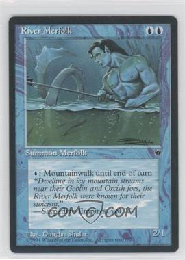 1994 Magic: The Gathering - Fallen Empires - Booster Pack [Base] #NoN - River Merfolk
