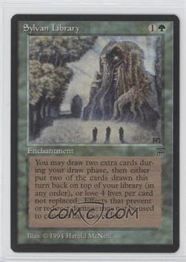 1994 Magic: The Gathering - Legends - Base Set #SYLI - Sylvan Library