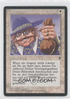 1994 Magic: The Gathering - Legends - Booster Pack [Base] - German #NoN - Land Tax