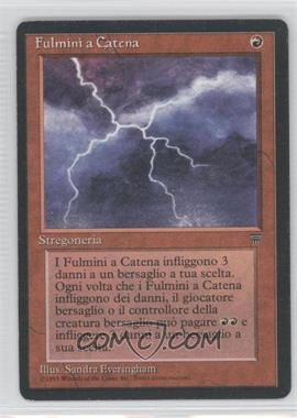 1994 Magic: The Gathering - Legends - Booster Pack [Base] - Italian #NoN - Chain Lightning
