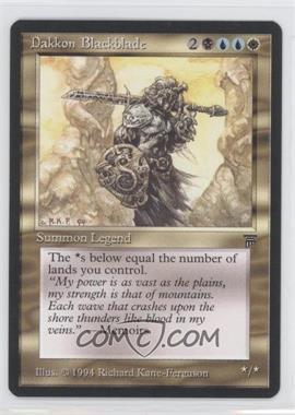 1994 Magic: The Gathering - Legends - Booster Pack [Base] #NoN - Dakkon Blackblade