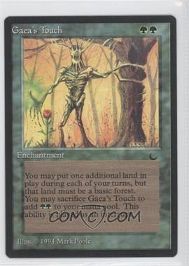 1994 Magic: The Gathering - The Dark - Booster Pack [Base] #GATO - Gaea's Touch