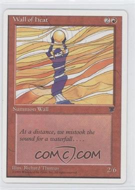 1995 Magic: The Gathering - Chronicles - Booster Pack White Border Compilation Set #NoN - Legends - Wall of Heat