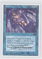 Legends Reprints - Recall