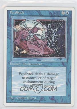1995 Magic: The Gathering - Core Set: 4th Edition - Booster Pack [Base] #FEED - Feedback