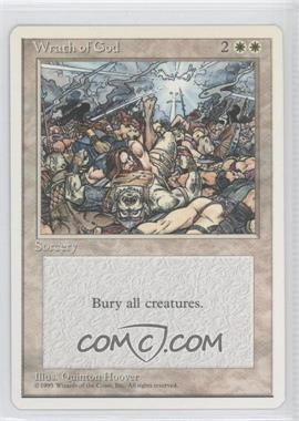 1995 Magic: The Gathering - Core Set: 4th Edition - Booster Pack [Base] #NoN - Wrath of God