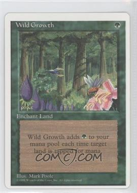 1995 Magic: The Gathering - Core Set: 4th Edition - Booster Pack [Base] #WIGR - Wild Growth