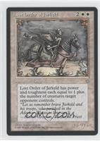 Lost Order of Jarkeld