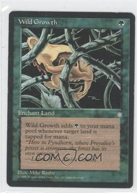 1995 Magic: The Gathering - Ice Age - Booster Pack [Base] #WIGR - Wild Growth [Noted]