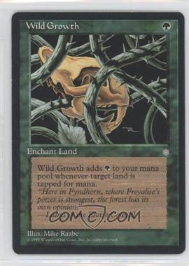 1995 Magic: The Gathering - Ice Age - Booster Pack [Base] #WIGR - Wild Growth