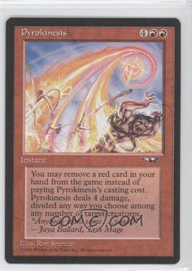 1996 Magic: The Gathering - Alliances - Booster Pack [Base] #PYRO - Pyrokinesis