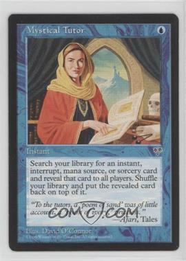 1996 Magic: The Gathering - Mirage - Booster Pack [Base] #NoN - Mystical Tutor