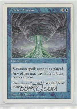 1997 Magic: The Gathering - Core Set: 5th Edition - Booster Pack [Base] #AEST - Æther Storm (Aether Storm)