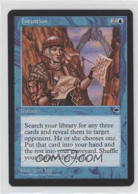 1997 Magic: The Gathering - Tempest - Booster Pack [Base] #INTU - Intuition