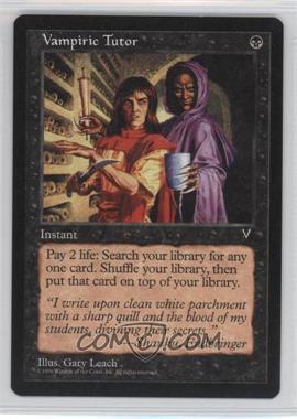1997 Magic: The Gathering - Visions - Booster Pack [Base] #NoN - Vampiric Tutor