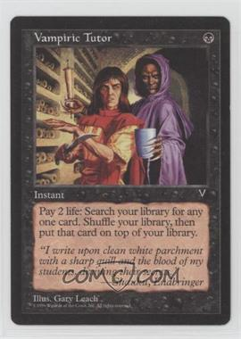 1997 Magic: The Gathering - Visions - Booster Pack [Base] #VATU - Vampiric Tutor