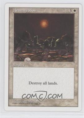 1998 Magic: The Gathering - Anthologies (5th Anniversary) - White Bordered Box Set #NoN - Armageddon