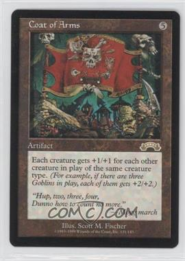 1998 Magic: The Gathering - Exodus - Booster Pack [Base] #131 - Coat of Arms