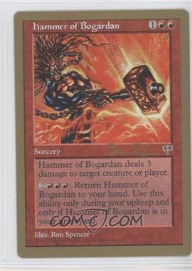1998 Magic: The Gathering - Seattle - World Championships Decks #NoN - Hammer of Bogardan