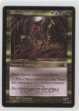 1998 Magic: The Gathering - Stronghold - Booster Pack [Base] #NoN - Sliver Queen