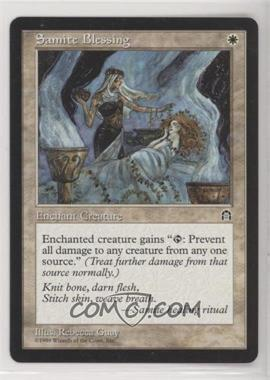 1998 Magic: The Gathering - Stronghold - Booster Pack [Base] #SABL - Samite Blessing