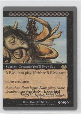 1998 Magic: The Gathering - Unglued - Booster Pack [Base] #29 - B.F.M. (Big Furry Monster) (Right Half)