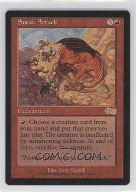 1998 Magic: The Gathering - Urza's Saga - Booster Pack [Base] #218 - Sneak Attack R :R: