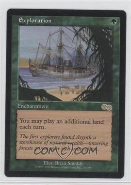 1998 Magic: The Gathering - Urza's Saga - Booster Pack [Base] #250 - Exploration