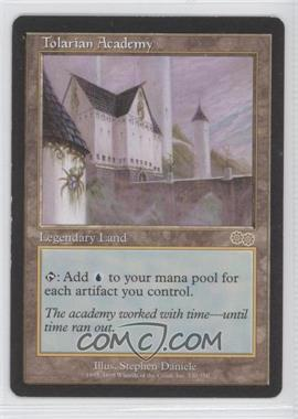1998 Magic: The Gathering - Urza's Saga - Booster Pack [Base] #330 - Tolarian Academy