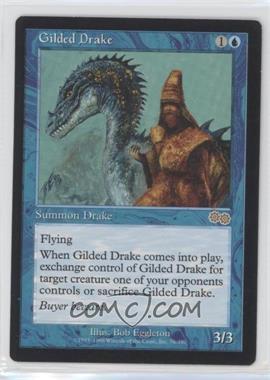 1998 Magic: The Gathering - Urza's Saga - Booster Pack [Base] #76 - Gilded Drake