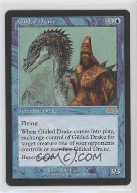 1998 Magic: The Gathering - Urza's Saga - Booster Pack [Base] #76 - Gilded Drake