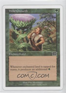 1999 Magic: The Gathering - Core Set: 6th Edition - Booster Pack [Base] #268 - Wild Growth