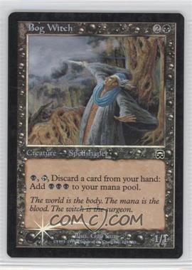 1999 Magic: The Gathering - Mercadian Masques - Booster Pack [Base] - Foil #118 - Bog Witch