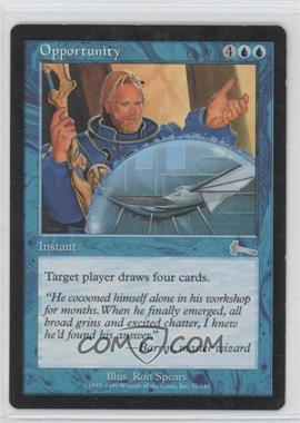 1999 Magic: The Gathering - Urza's Legacy - Booster Pack [Base] #37 - Opportunity