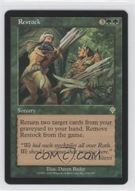 2000 Magic: The Gathering - Invasion - Booster Pack [Base] #206 - Restock