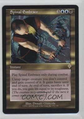 2000 Magic: The Gathering - Invasion - Booster Pack [Base] #276 - Spinal Embrace