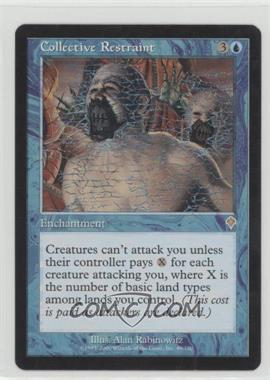 2000 Magic: The Gathering - Invasion - Booster Pack [Base] #49 - Collective Restraint