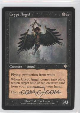 2000 Magic: The Gathering - Invasion - Booster Pack [Base] #97 - Crypt Angel