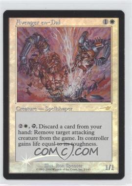 2000 Magic: The Gathering - Nemesis - Booster Pack [Base] - Foil #2 - Avenger en-Dal