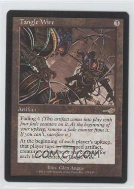 2000 Magic: The Gathering - Nemesis - Booster Pack [Base] #139 - Tangle Wire