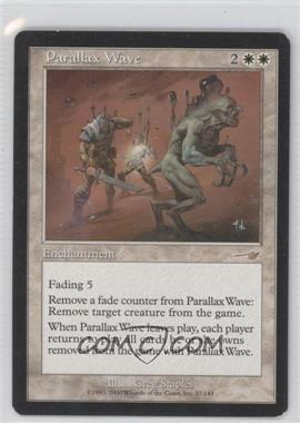 2000 Magic: The Gathering - Nemesis - Booster Pack [Base] #17 - Parallax Wave