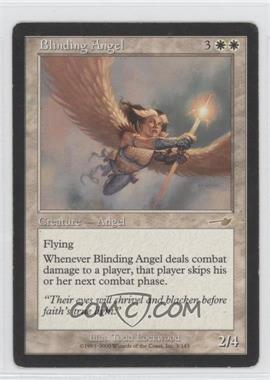 2000 Magic: The Gathering - Nemesis - Booster Pack [Base] #3 - Blinding Angel