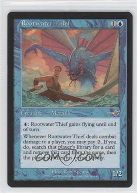 2000 Magic: The Gathering - Nemesis - Booster Pack [Base] #40 - Rootwater Thief