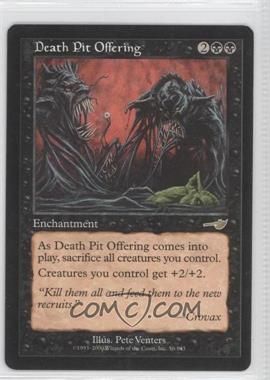 2000 Magic: The Gathering - Nemesis - Booster Pack [Base] #56 - Death Pit Offering