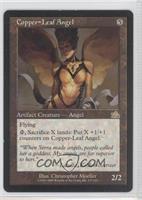Copper-Leaf Angel